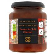 Co Op Irresistible Tomato and Chilli Chutney