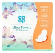 Co Op Regular Ultra Towels With Wings