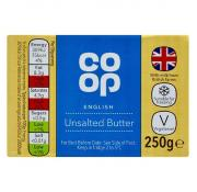Co Op Butter Unsalted