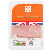 Co Op British Wafer Thin Honey Roast Ham