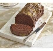Cook Belgian Chocolate Yule Log