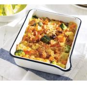 Cook Smoked Haddock, Bacon and Sweet Potato Gratin