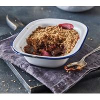 Cook Spiced Plum and Pear Crumble image