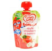 Cow and Gate Apple Strawberry and Banana Pouch