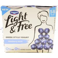 Danone Light and Free Blueberry image