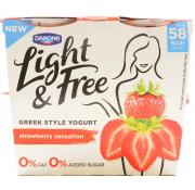 Danone Light and Free Strawberry