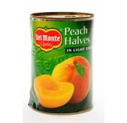 Delmonte Peach Halves in Light Syrup