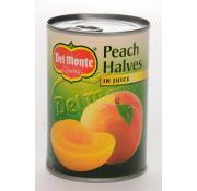 Delmonte Peach Halves in Juice