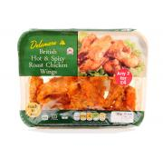 Delamere Hot And Spicy Roast Chicken Wings