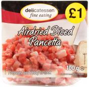 Delicatessen Fine Eating Airdried Pancetta