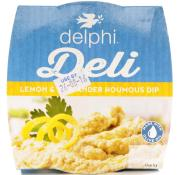 Delphi Deli Lemon And Coriander Houmous