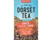 Dorset Tea Ginger and Sunshine Lemon
