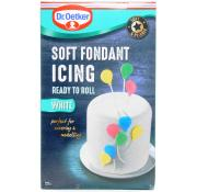 Dr Oetker Soft Fondant Icing Ready to Roll - White
