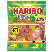 Haribo Farm Animal Zing