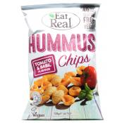 Eat Real Hummus Chips Tomato and Basil