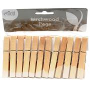 Birchwood Wooden Pegs