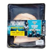 Fire and Smoke Fire Grilled Chicken Breast Shavings