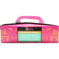 Gazebo Cuisine Kitchen Indian Meal Box For 2 image