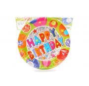 Happy Birthday Party Plates