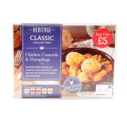 Heritage Chicken Casserole and Dumplings