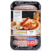 Heritage Gourmet Lincolnshire Sausages