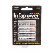 Infapower Longlife Rechargeable AA Batteries