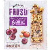 Jordans Frusli Raisin and Hazelnut Cereal Bars