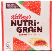 Kelloggs Nutrigrain Strawberry Cereal Bar