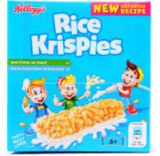 Kelloggs Rice Krispies Cereal and Milk Bar