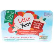 Yeo Valley Little Yeos Strawberry Mango and Vanilla