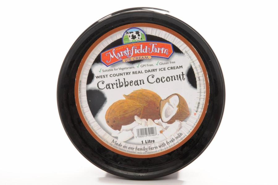 Dike & Son - Marshfield Farm Caribbean Coconut Ice Cream