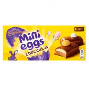 Cadbury 6 Mini Egg Chocolate Cakes