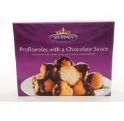 Mr Kings Profiteroles With Chocolate Sauce