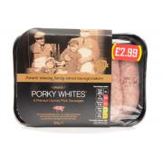 Porky Whites Pork Sausages