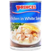 Princes Chicken In White Sauce