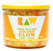 Raw Organic Fresh Kraut Golden Glow Curry Ginger