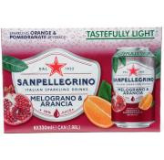 San Pellegrino Melograno E Ara (Orange and Pomegranate)