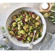 Cook Brussels Sprouts With Sage and Red Onion