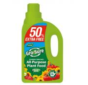 Gro-sure All Purpose Plant Food 50% Extra Free
