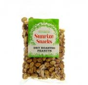Sunrize Snacks Dry Roasted Peanuts