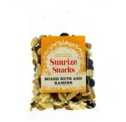 Sunrize Snacks Mixed Nuts and Raisins
