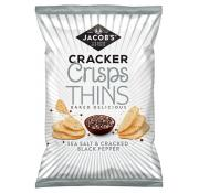 Jacobs Thins Sea Salt and Cracked Black Pepper