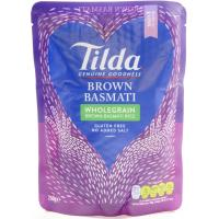 Tilda Brown Wholegrain Basmati Rice image