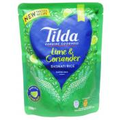 Tilda Steamed Lime and Coriander Basmati Rice