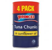 Princes Tuna Chunks In Sunflower Oil
