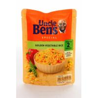 Uncle Bens Express Golden Vegetable Rice  image