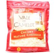Vale of Camelot Creamy Grated Mature Cheddar