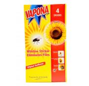 Vapona Fly Window Stickers