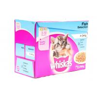 Whiskas Kitten Pouch Fish In Jelly image