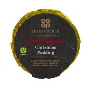 Co Op Irresistible Richly Fruited Christmas Pudding